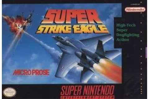 Super Strike Eagle (1992) by Microprose SNES game