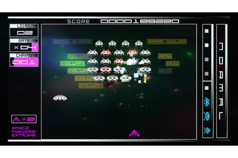 Space Invaders Extreme News, Achievements, Screenshots and ...