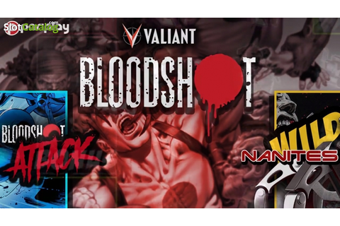 BloodShot Slot Review, Bonus Codes & where to play from UK