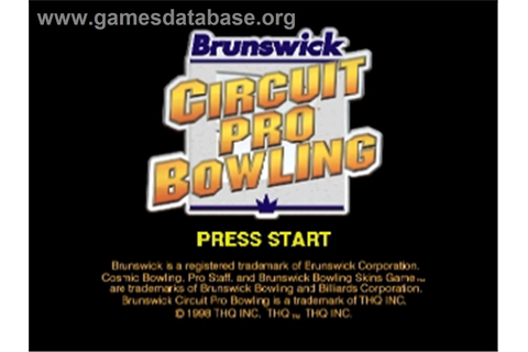 Brunswick Circuit Pro Bowling - Nintendo N64 - Games Database