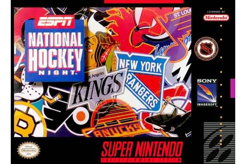 ESPN National Hockey Night | Nintendo | FANDOM powered by ...