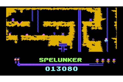 Spelunker (Commodore 64) - soundtrack - YouTube