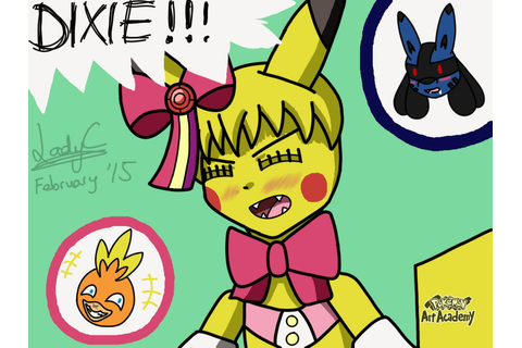 Pokemon Art Academy - Sarah the Pikachu by LadyCharizard ...