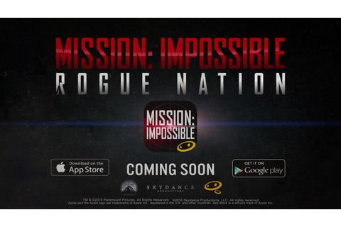 Official Mission Impossible Rogue Nation (by Glu Games ...
