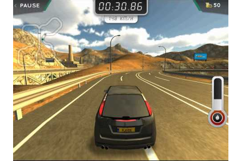 Highway Rally Free Online Game - YouTube