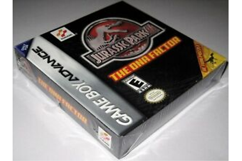 Jurassic Park III: The DNA Factor (Game Boy Advance ...