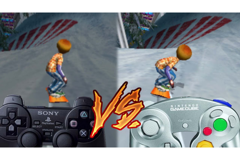 PlayStation 2 vs Gamecube - SSX Tricky - YouTube