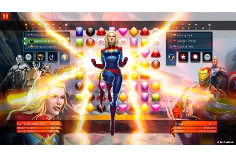 Download Marvel Puzzle Quest Full PC Game