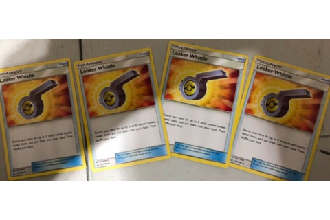 4X Looker Whistle - Sun and Moon: Ultra Prism (127/156 ...