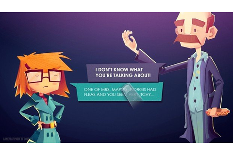 Detective-Themed Adventure Game Jenny LeClue Coming To ...