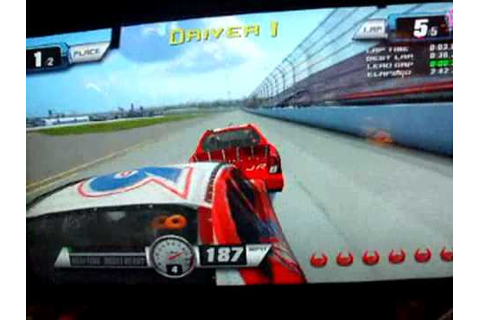 Nascar Racing (Arcade) - YouTube