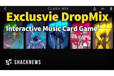 New Interactive Music Game DropMix - YouTube