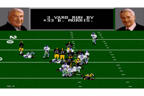 Madden NFL '96 Sega Genesis Gameplay HD - YouTube