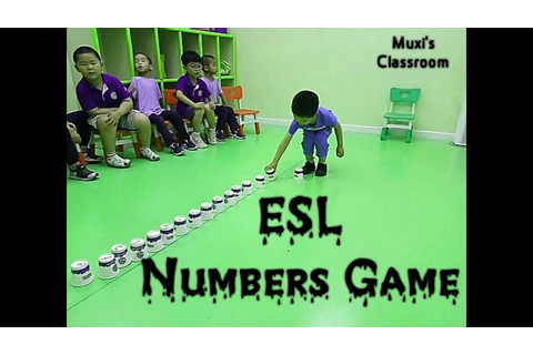 214 - ESL Math Game using Cups | Numbers Game | Counting ...