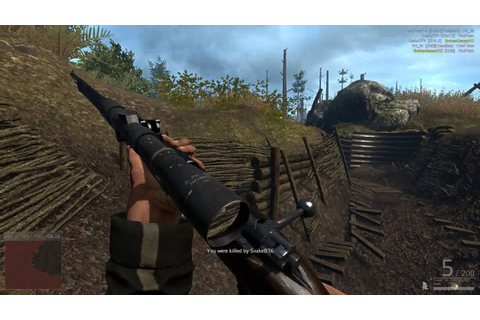 Verdun PC Gameplay - Realistic WWI Multiplayer FPS - YouTube