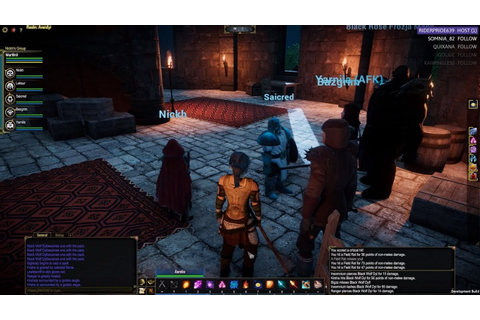 Pantheon: Rise of the Fallen - Elf Wizard Pre-Alpha ...