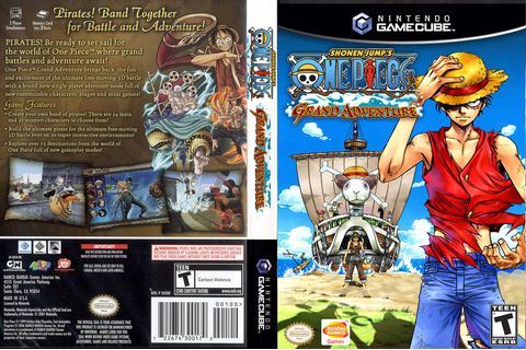 GOQEAF - Shonen Jump's One Piece: Grand Adventure