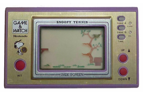 Buy Snoopy Tennis: Wide Screen Series Game & Watch Australia