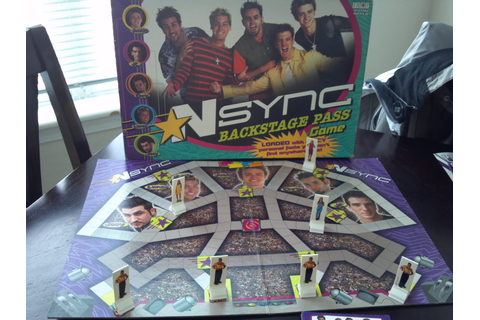 NSYNC Backstage Pass Game | A Board Game A Day