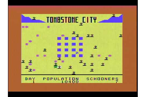 Tombstone City (TI-99/4A) gameplay footage - YouTube