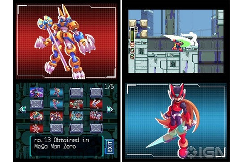 Mega Man Zero Collection Hands-on - IGN