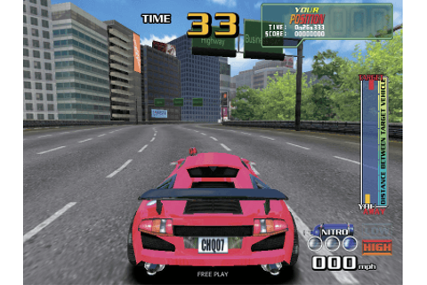 Chase H.Q. 2, Arcade Video game by Taito (2007)