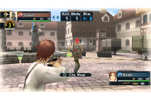 Valkyria Chronicles 2 PPSSPP Gameplay 1080p Test - YouTube
