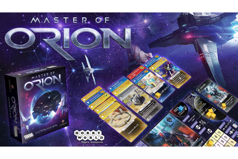 Master of Orion Board Game | Queen of Games de beste ...