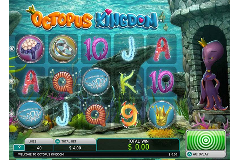 Free Octopus Kingdom Slot | A Leander Games Casino Game ...