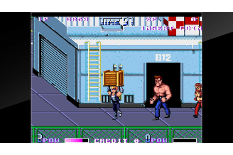 Double Dragon II: The Revenge Launches Today on PS4 ...