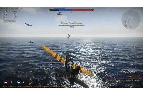 MOST AMAZING DOGFIGHT IN WAR THUNDER 2014 !!! FLYING GAME ...