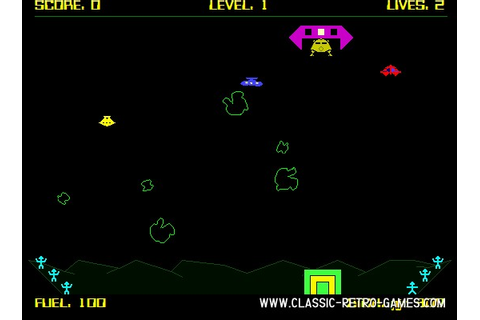 Download Lunar Rescue & Play Free | Classic Retro Games