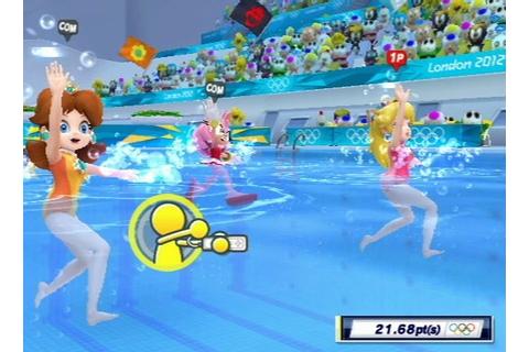 Mario Et Sonic Aux Jeux Olympiques De Londres 2012 Sur Qwant