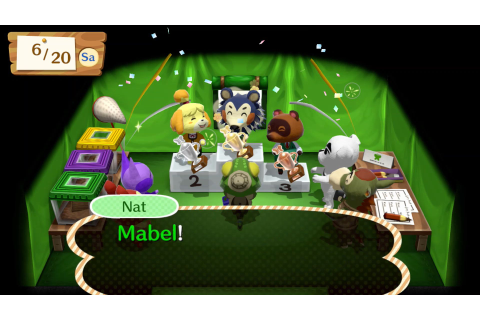Animal Crossing: Amiibo Festival is Announced for Wii U ...
