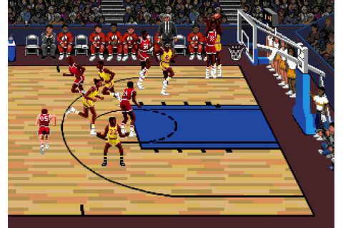 Lakers vs. Celtics and the NBA Playoffs (1990) Mega Drive game