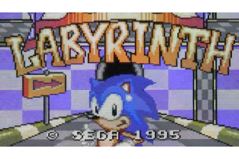 CGR Undertow - SONIC LABYRINTH review for Game Gear - YouTube