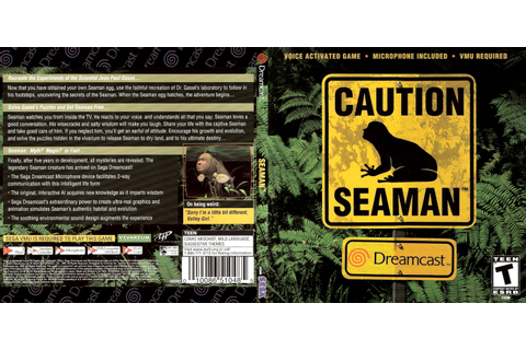 Two Trademarks Suggest That Seaman Is Being Revived By ...
