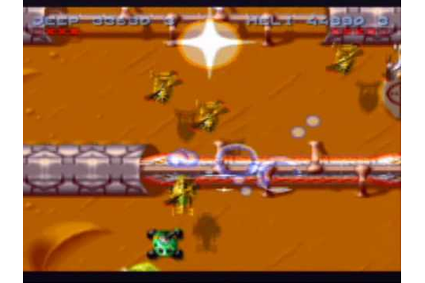 Firepower 2000 Game Sample - SNES/SFC - YouTube