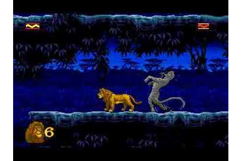 The Lion King (PC/DOS game) Pt. 7 - YouTube