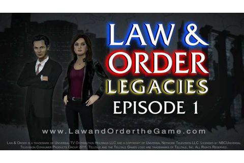 Law & Order: Legacies - Episode 1: Revenge Trailer - YouTube