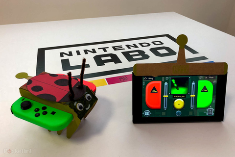 Nintendo Labo review: Crazy cardboard fun for the Switch ...