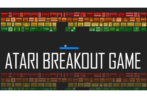 Play Atari Breakout game online on Google - YouTube