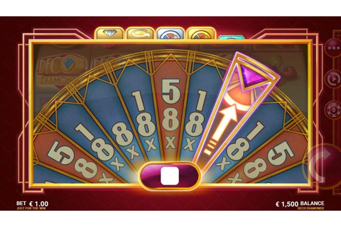 Play Deco Diamonds Online Slots - Win 500 Spins - Wizard Slots