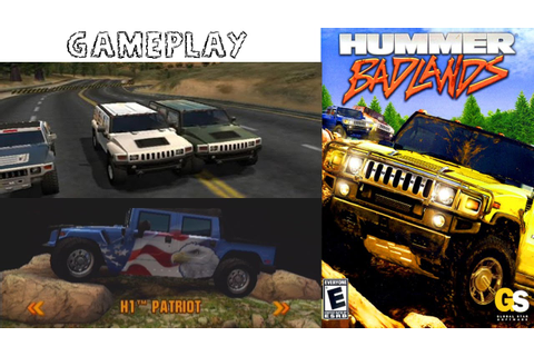 Hummer Badlands - PS2 Gameplay HD - YouTube