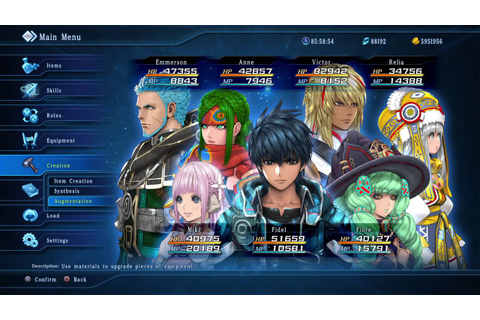 STAR OCEAN 5 How to make +5% Amulets(Atk, Def, Int, Men ...