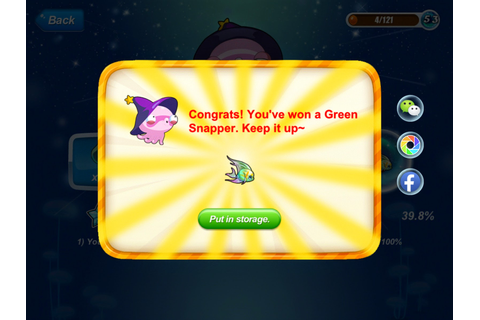 Happy Fish Tips (iOS Devices): Synth Game: Green Snapper