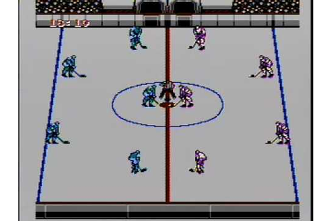 CLASSIC GAMES REVISITED - Blades of Steel (Nintendo NES ...