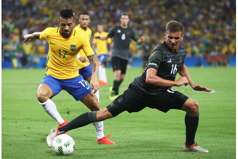 With penalty kick, Brazil beats Germany for 1st soccer ...