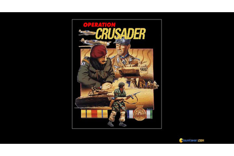 World at War: Operation Crusader gameplay (PC Game, 1994 ...