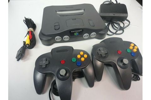 Nintendo 64 N64 Console Video Game System 2 Player PACK ...